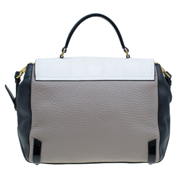 Marc by Marc Jacobs Colourblock Leather Sheltered Island Satchel