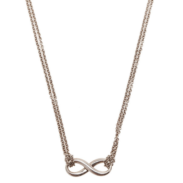 Tiffany & Co. Infinity Silver Necklace