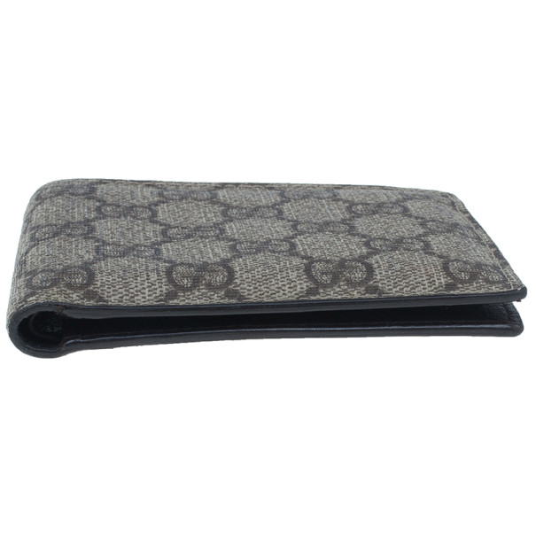 Gucci GG Supreme Compact Wallet