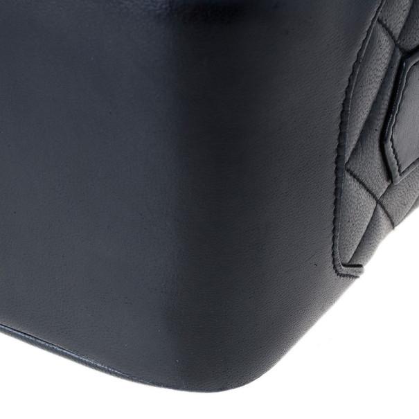Chanel Black Lambskin Leather Vintage Crossbody