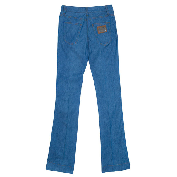Dolce and Gabbana Blue Skinny Jeans S