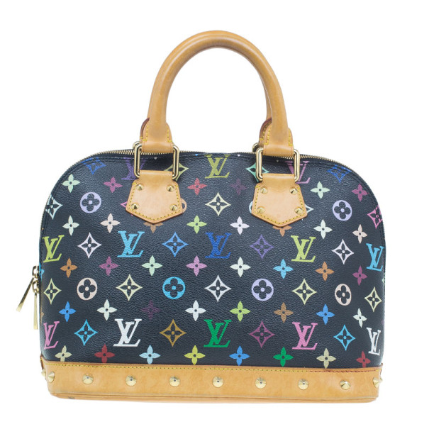 Louis Vuitton Multicoloured Monogram Canvas Alma PM