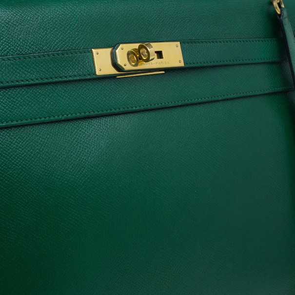 Hermes Vintage Emerald Green Kelly 36