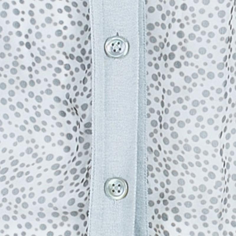 Saint Laurent Paris Leopard Chiffon Knit Cardigan M