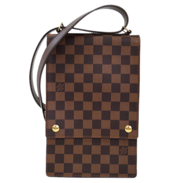 Louis Vuitton Damier Ebene Portobello Shoulder Bag