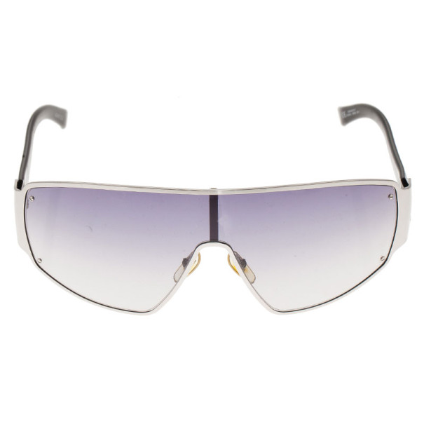 Gucci Black GG Shield Sunglasses