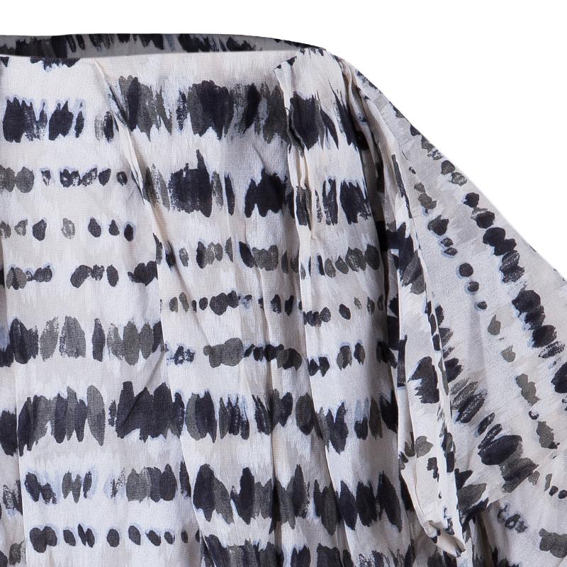 Kenzo Monochrome Dotted Skirt M