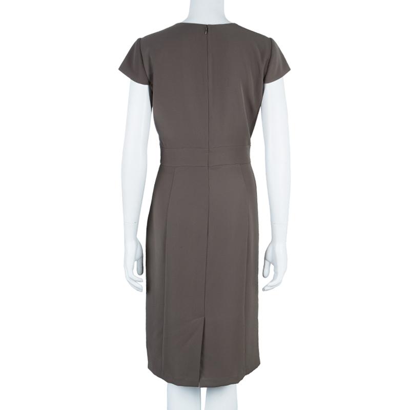 Armani Collezioni Grey Dress L