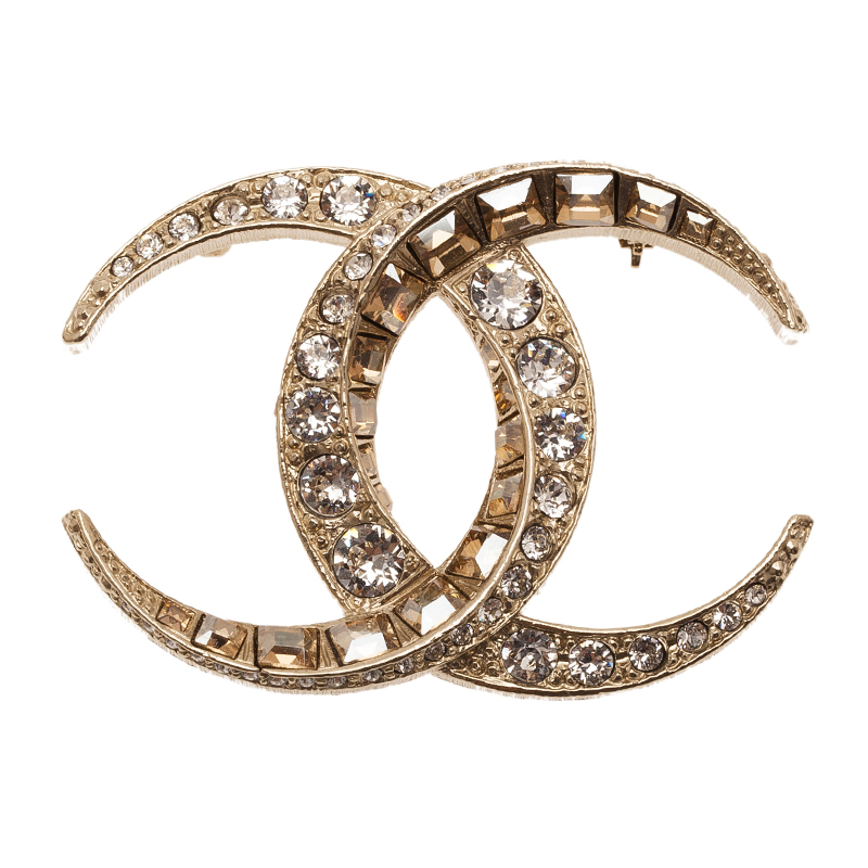 channel cm x chanel broche coco shop goldcoloured brooch pearls en fake with