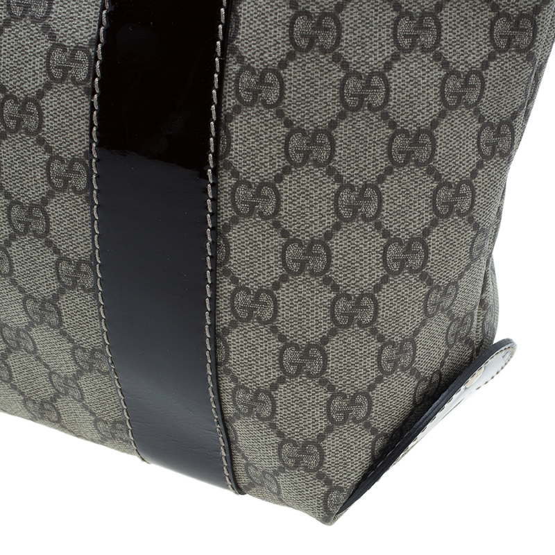 Gucci Brown Monogram Coated Canvas Vanity Tote