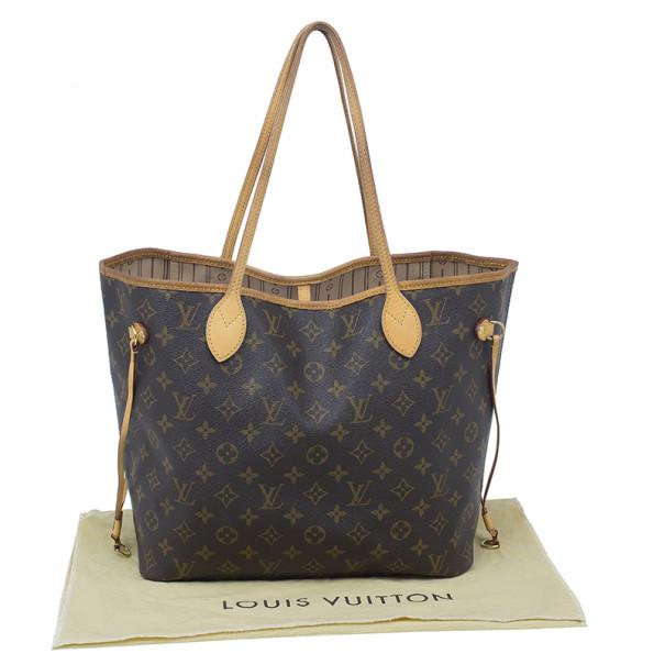 Louis Vuitton Monogram Canvas Neverfull MM