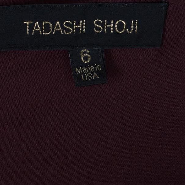 Tadashi Shoji Chantilly Lace Tiered Gown M