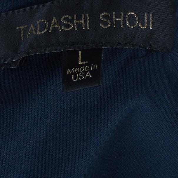 Tadashi Shoji Lace Embroidered Bandage Gown L