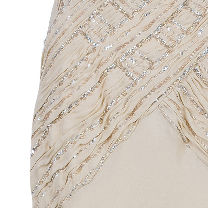 Class by Roberto Cavalli Blush Embellished Gown L