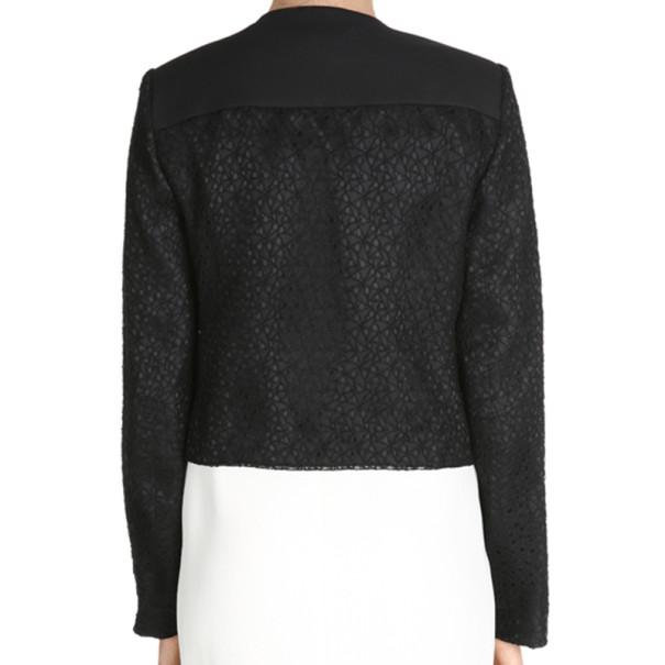 Jason Wu Black Cropped Jacket M