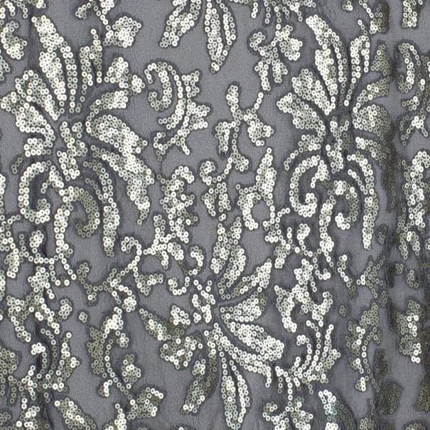 Tadashi Shoji Sequin Embellished Gown M