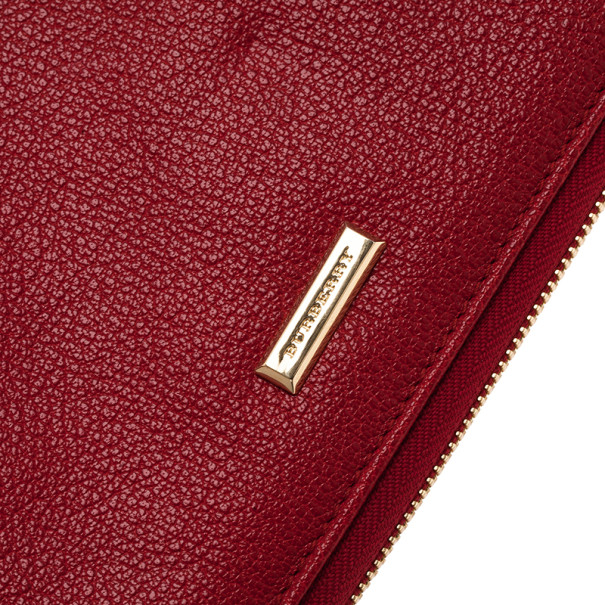Burberry London Red Leather iPad 2 Case