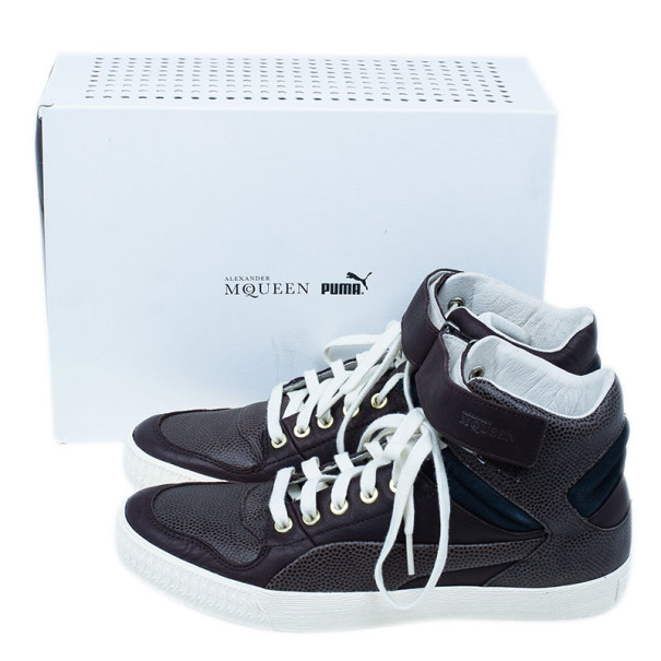 Alexander McQueen for Puma Brown Street Climb III Sneakers Size 42