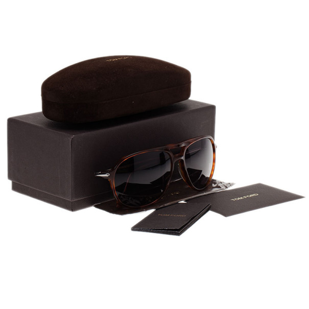 Tom Ford Brown John Unisex Aviators