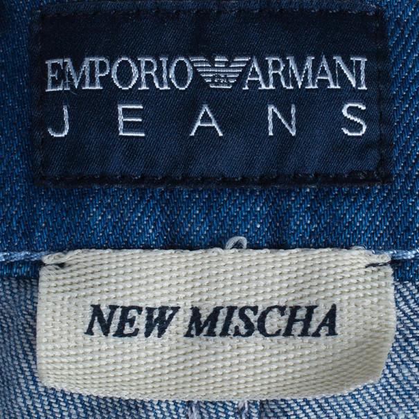 Emporio Armani New Mischa Floral Back Pocket Detail Denim Jeans S