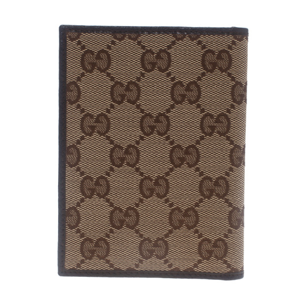 Gucci GG Canvas Passport Cover