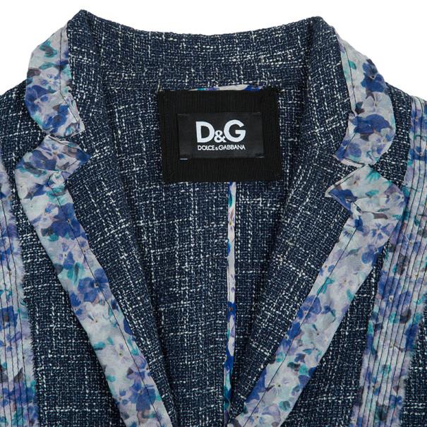 DandG Tweed Blazer S