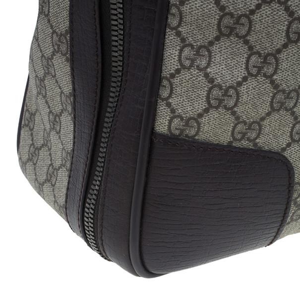 Gucci Original GG Canvas Carry On Travel Bag
