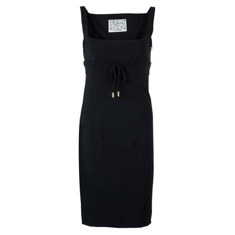 Dsquared2 Black Sleeveless Dress M