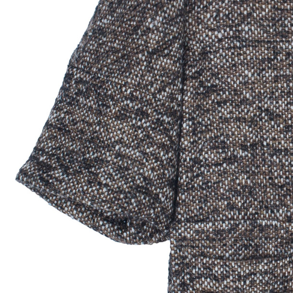 RED Valentino Brown Tweed Short Jacket M