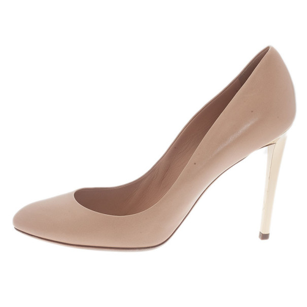 Dior Nude Leather Sublime Pumps Size 41