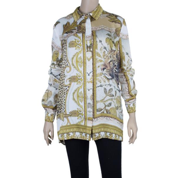 Just Cavalli Printed Shirt M