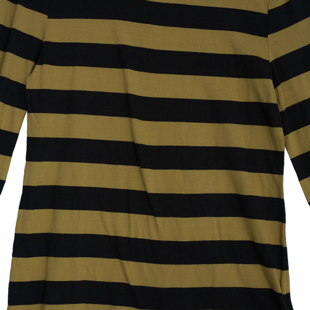 Burberry Striped Long Sleeve T-Shirt M