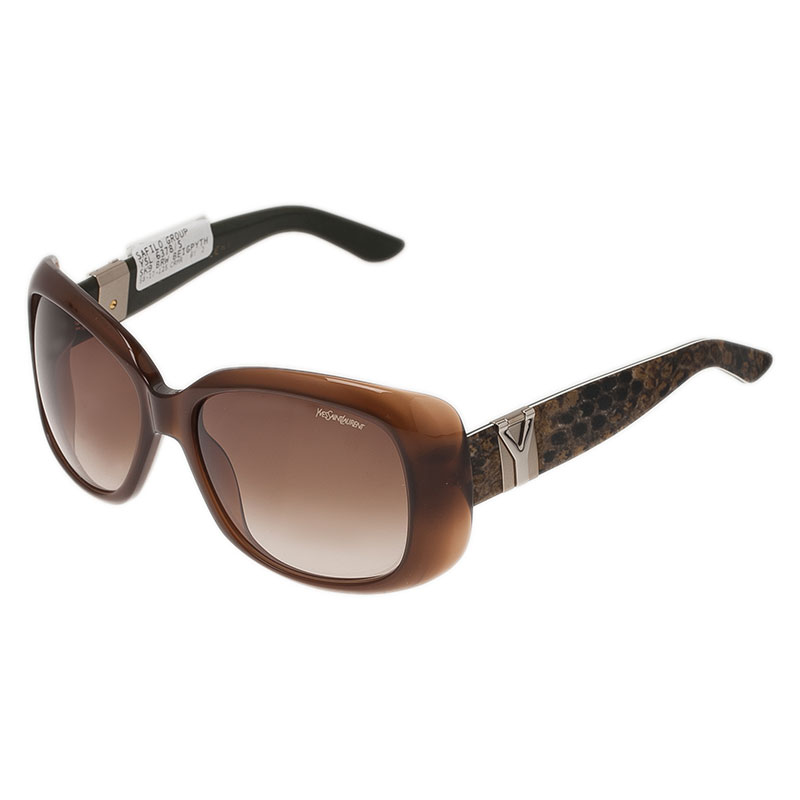 Saint Laurent Paris Brown 6378 Sunglasses