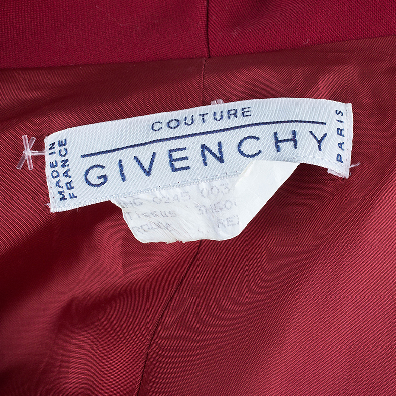 Givenchy Couture Double Breasted Blazer Coat M