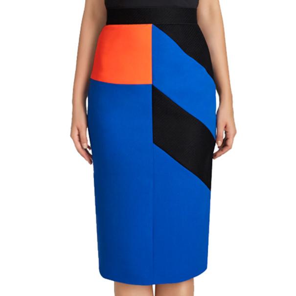 Roksanda Ilincic Alba Colour-Block Skirt M