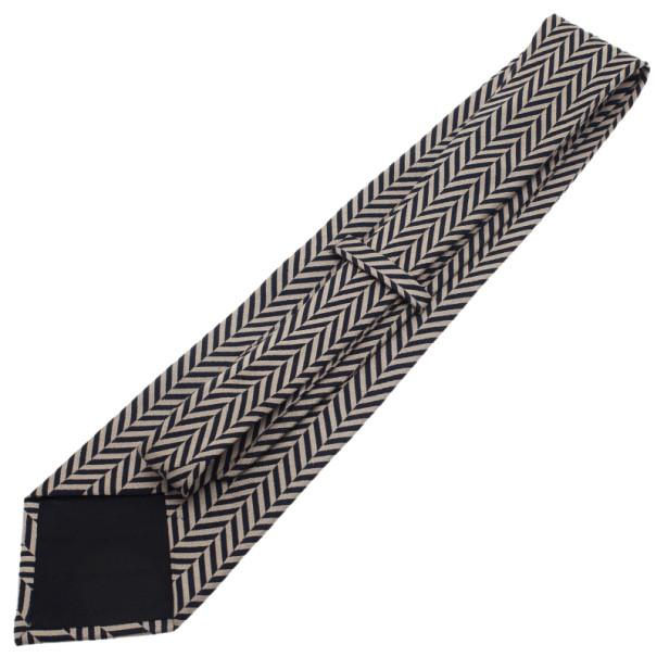 Giorgio Armani Zig Zag Print Tie