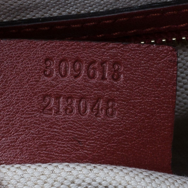 Gucci Red Patent Microguccissima Leather Nice Tote