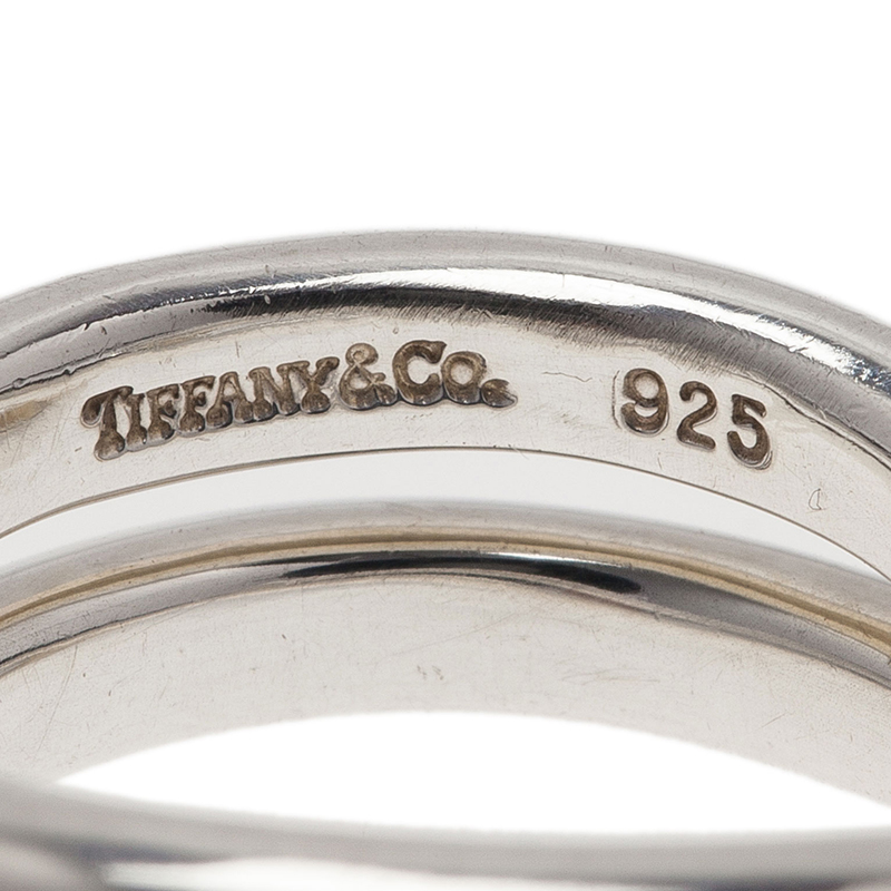 Tiffany & Co. Paloma's Calife Silver Ring Size 50.5