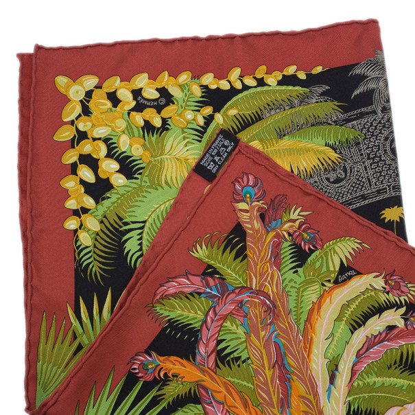 Hermes Mythiques Phoenix Silk Twill Square Scarf