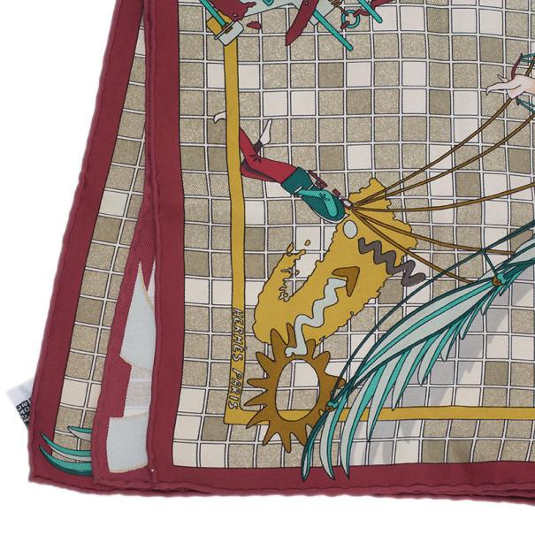 Hermes Remiges de Fuite Square Scarf