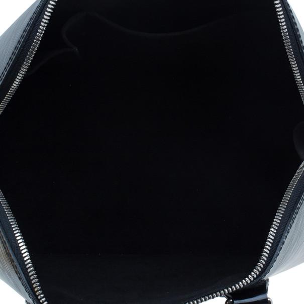 Louis Vuitton Black Epi Leather Alma PM