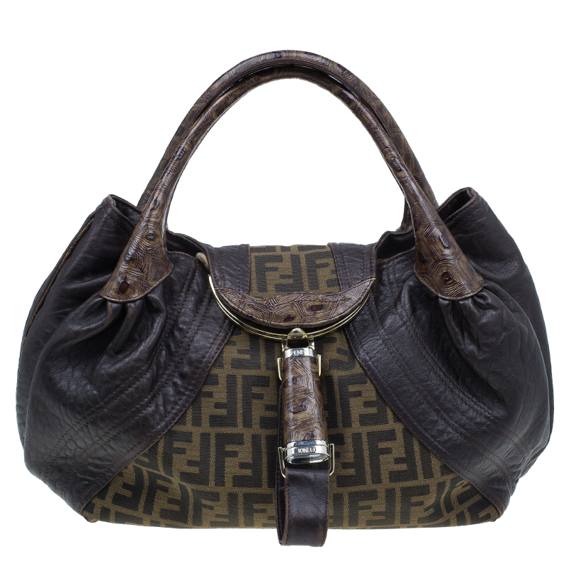 ... shopping fendi brown leather canvas limited edition tortoise spy bag.  nextprev. prevnext df770 0fd18 f006cd0054752