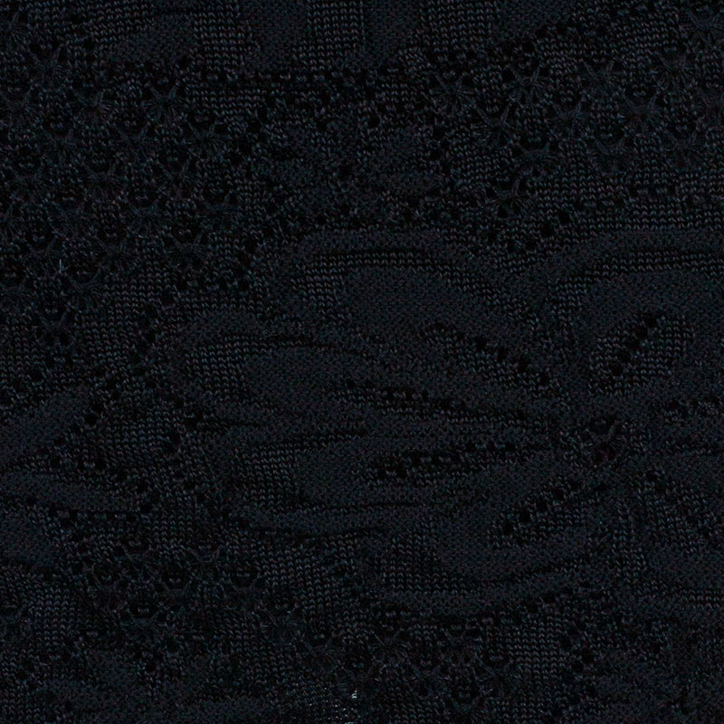 M Missoni Black Textured Skirt M