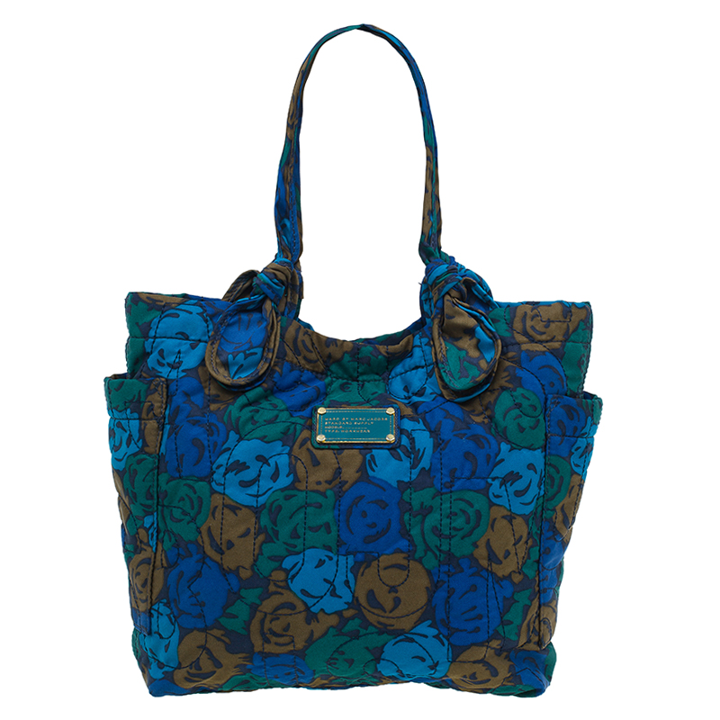 Marc by Marc Jacobs Multicolor Nylon Medium Pretty Tate Tote Bag
