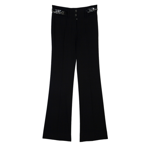 Dolce and Gabbana Horsebit Detail Pants S