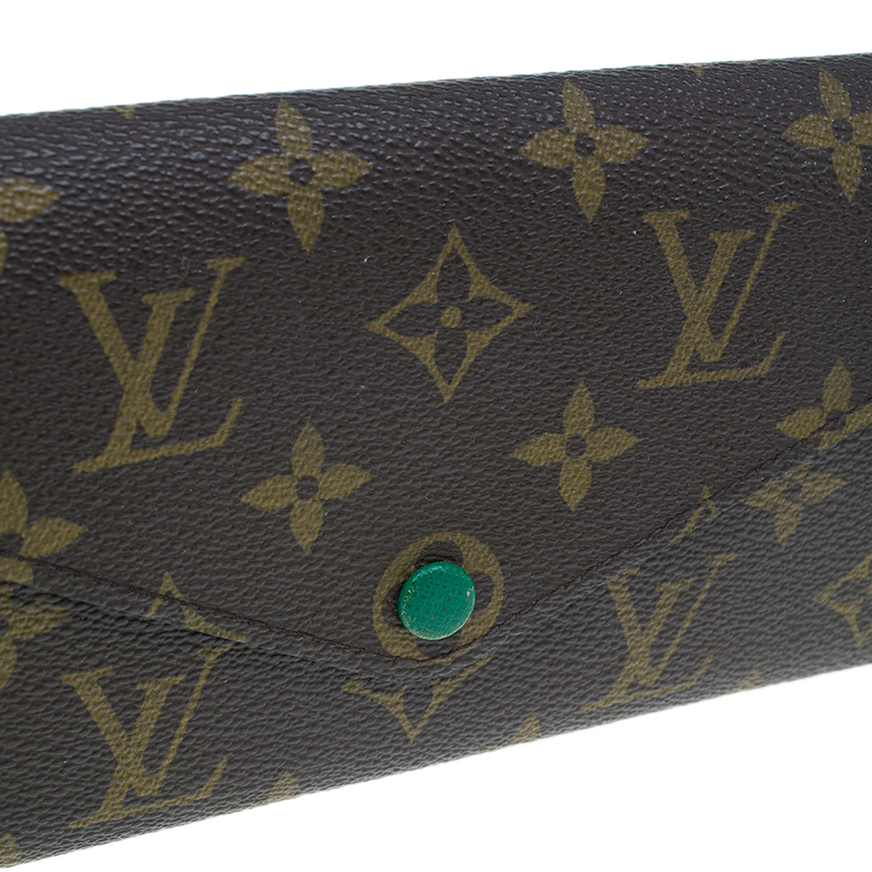 Louis Vuitton Monogram Canvas Josephine Wallet