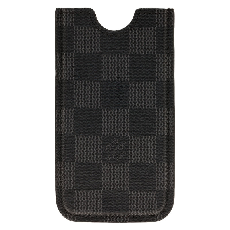 Louis Vuitton  Damier Graphite Canvas iPhone Cover