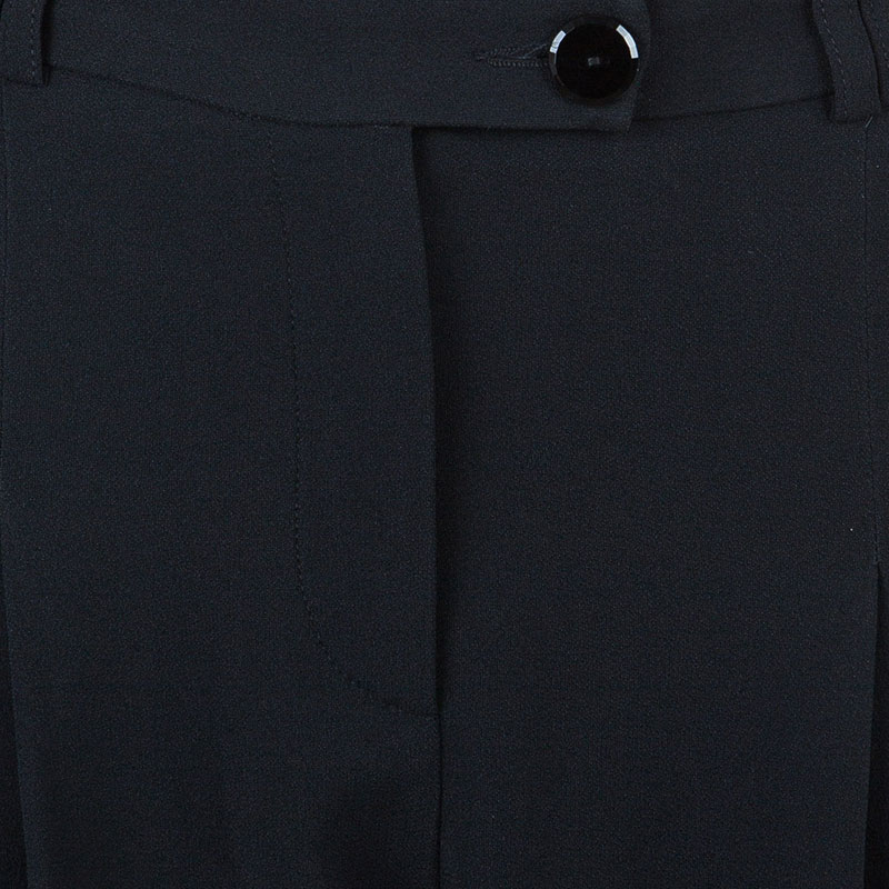 Emporio Armani Black Formal Trousers L