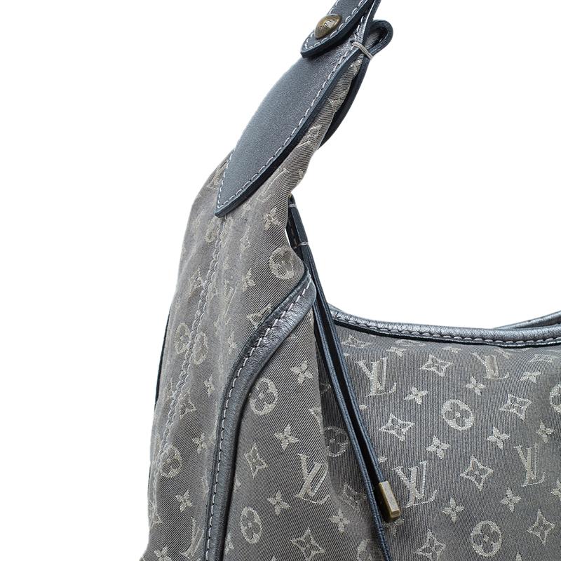 Louis Vuitton Platine Monogram Canvas Manon MM Bag