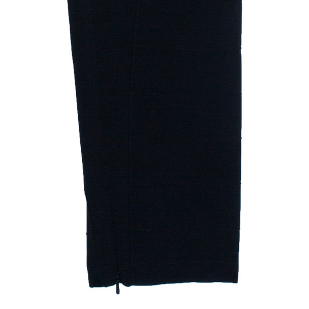 Temperley London Black Tapered Trousers S